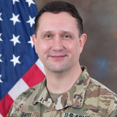 COL Chad Bates, Special Assistant to the Commanding General, U.S. Army Cyber Command